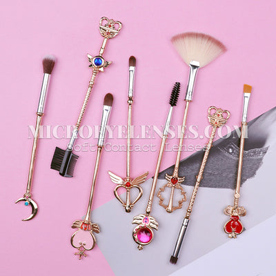 Micro® Eye Circle Lens Sailor Moon Makeup Brushes B02058