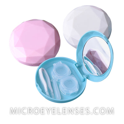 Micro® Eye Circle Lens Diamond Contact Case B01887