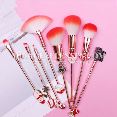 Micro® Eye Circle Lens Santa Claus Makeup Brushes B02057