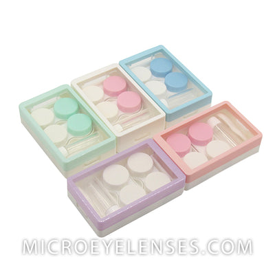 Micro® Eye Circle Lens Lucency Contact Case B01973