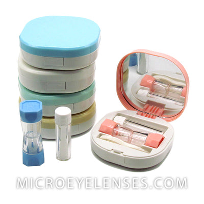 Micro® Eye Circle Lens Lovely Contact Case B01960