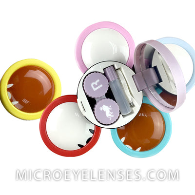 Micro® Eye Circle Lens Elf Contact Case B01974