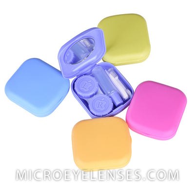 Micro® Eye Circle Lens Mini Contact Case B01963