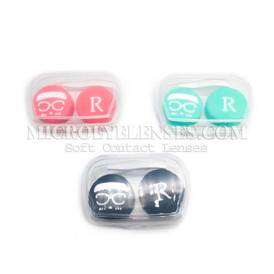 Micro® Eye Circle Lens Microeyelenses Contact Lenses Case B02083