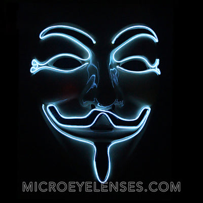 Micro® Eye Circle Lens V for Vendetta LED Light Up Masks B01250