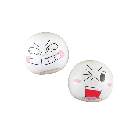 Micro® Eye Circle Lens Funny Emoticon Package Contact Case B01568