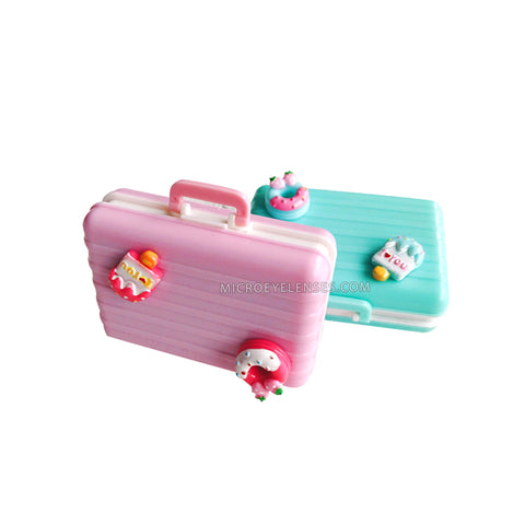 Micro® Eye Circle Lens Ice - cream Suitcase Contact Case B0487