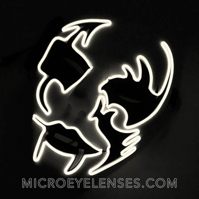 Micro® Eye Circle Lens Horrific Monster LED Light Up Masks B01251