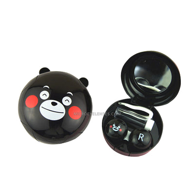Micro® Eye Circle Lens Kumamon Contact Case B01569