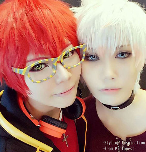 Micro® Eye Circle Lens Devil Yellow Cosplay Colored Contacts Lens M0952