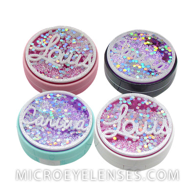 Micro® Eye Circle Lens Rainbow Contact Case B01959