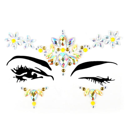 Micro® Resin Crystal Face Jewels B2294