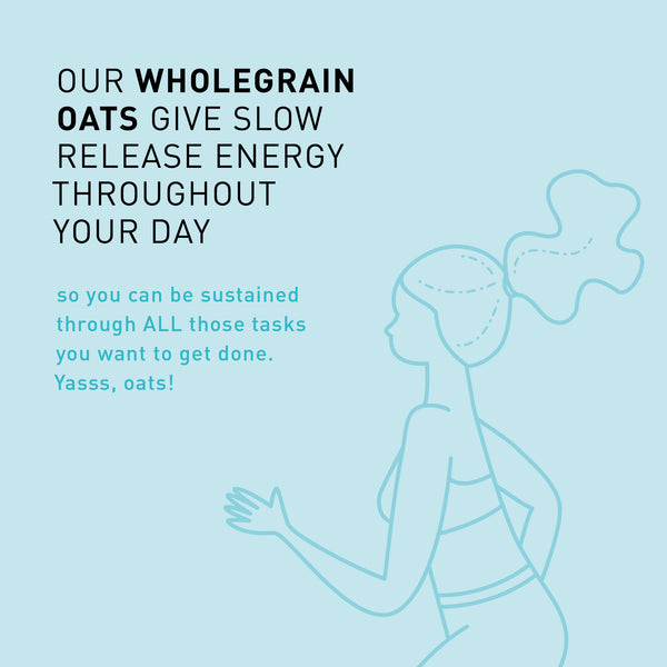 F A C T: Oats powering your to-do list