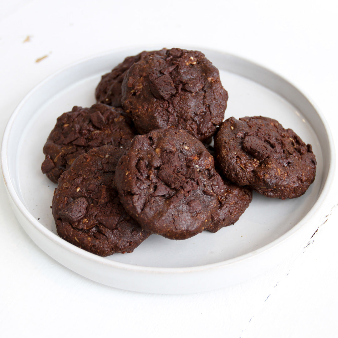 R E C I P E: Rich Double Choc Cookies
