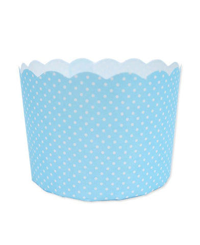 Paper Baking Patty Cups (Pack 50)- Blue Spots