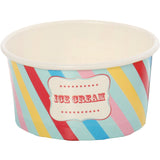 Ice Cream Cup + Spoon (Pack 12)- Little Circus