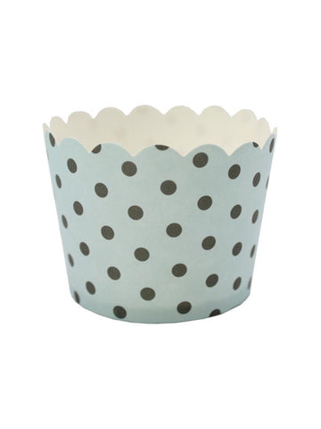Le Petit Gateau (Pack 25) - Duck Egg + Black Spots