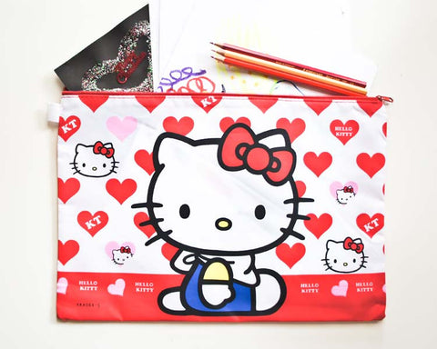 Hello Kitty Document / Pencil Case - Large