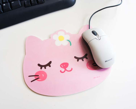 Pinky Kitten Mouse Pad