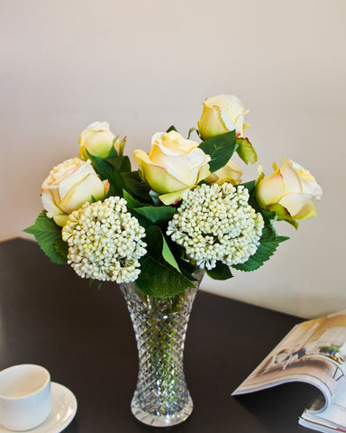 Thai Rose Bouquet - Yellow