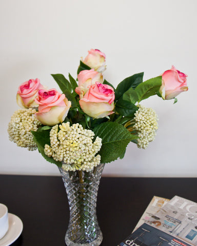Thai Rose Bouquet - Pink