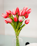 Small Tulip Flower Bouquet - Pink