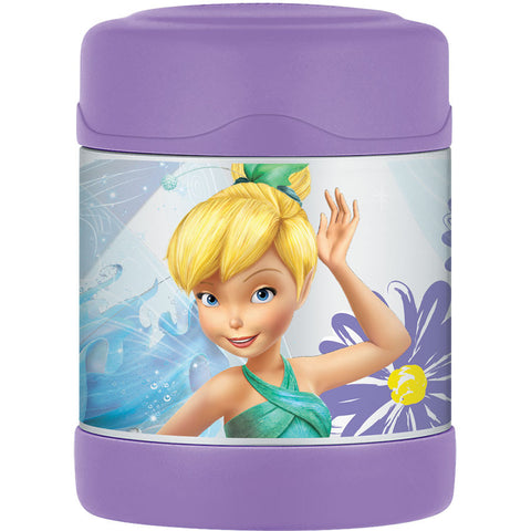 Thermos 290mL St/Steel Vacuum Insulated Food Jar - Disney Fairies