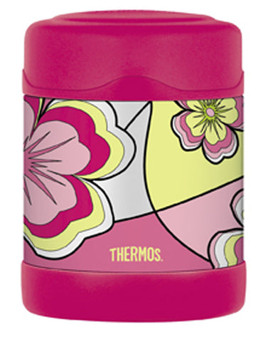 Thermos 290mL Funtainer St/Steel Vacuum Insulated Food Jar - Mod Floral