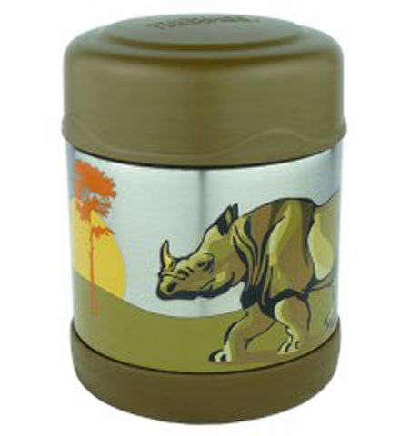 Thermos 290mL Funtainer St/Steel Vacuum Insulated Food Jar - Safari