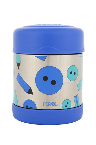 Thermos 290mL Funtainer St/Steel Vacuum Insulated Food Jar - Art