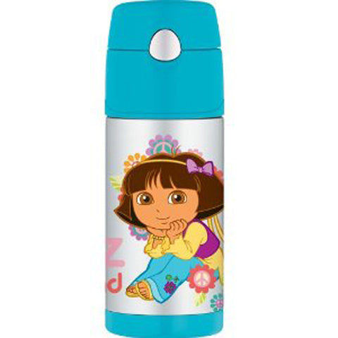 Thermos 355mL St/Steel Vacuum Insulated Drink Bottle - Dora