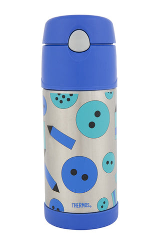 Thermos 355mL Funtainer St/Steel Vacuum Insulated Drink Bottle - Art