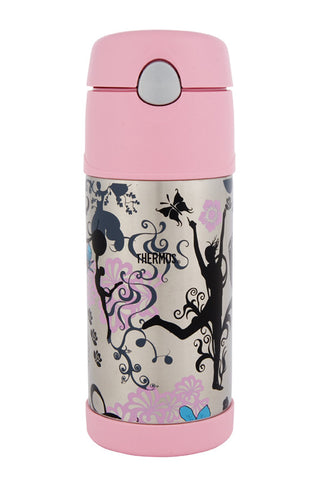 Thermos 355mL Funtainer St/Steel Vacuum Insulated Drink Bottle - Dance