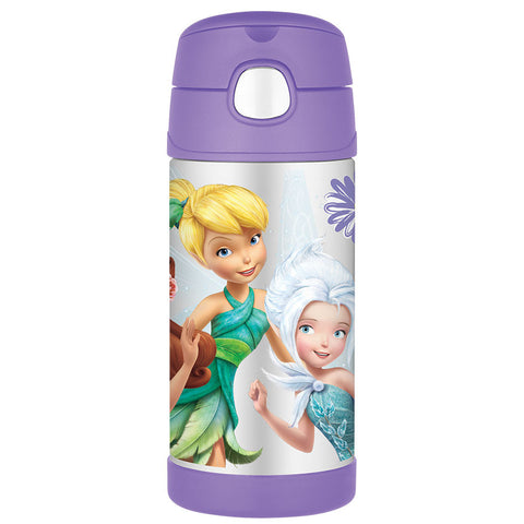 Thermos 355mL St/Steel Vacuum Insulated Drink Bottle - Disney Fairies