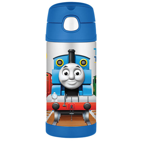 Thermos 355mL St/Steel Vacuum Insulated Drink Bottle - Thomas The Tank Engine