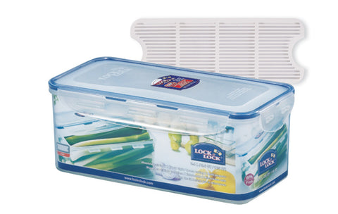 Lock & Lock Narrow Long Rectangle 3.4L W/Tray
