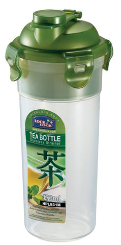 Lock & Lock Tea Bottle 470ml W/Strainer