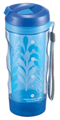 Lock & Lock Double Wall Tea Bottle 450ML (Fern)