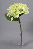 Silk Hydrangea Bridal Wedding Posy - Green
