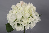Silk Hydrangea Bridal Wedding Posy - White