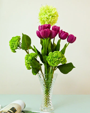 Home Decor Artificial Flowers Bouquet