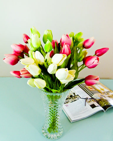 Small Tulip Flower Bouquet - Mixed Colour