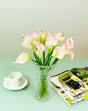 Small Calla Lily Flowers - Pink