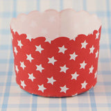Paper Baking Patty Cups (Pack 50)- Superstar Red