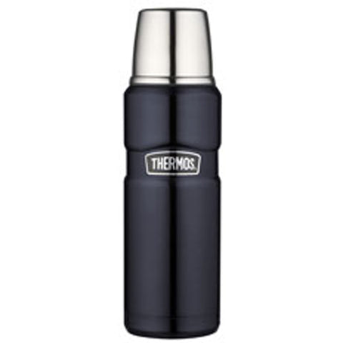 Thermos 470mL St/Steel Vacuum Insulated Flask - Midnight Blue