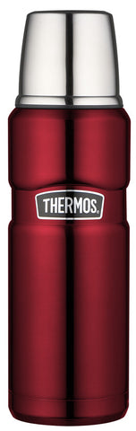 Thermos 470mL St/Steel Vacuum Insulated Flask - Red