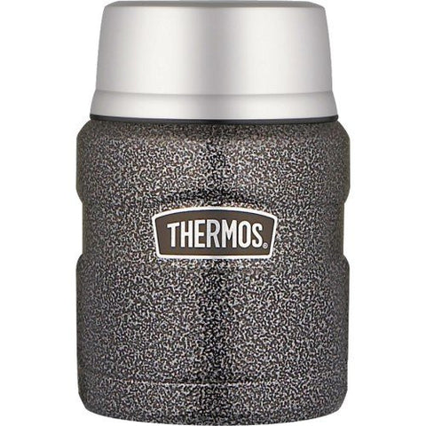 Thermos 710mL Vacuum Insulated St/Steel King Food Jar - Hammertone