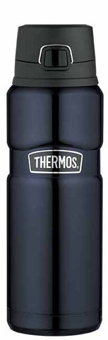 Thermos 710ml Vacuum Insulated Stainless King™ Leak-Proof Drink Bottle - Midnight Blue
