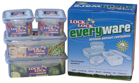 Lock & Lock Everyware 4PCS Set
