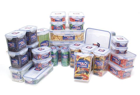 Lock & Lock Economy 26PCS Container Set